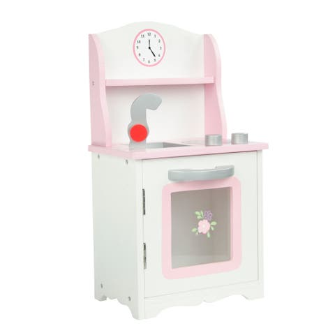 Olivia's Little World Little Princess 18-inch Doll Sweet Pink Kitchen