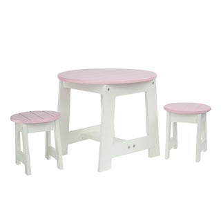Olivia's Little World Little Princess 18-inch Doll Outdoor Table and 2 Chairs Set