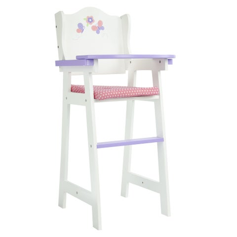 Olivia's Little World Princess 18-inch Doll Baby High Chair