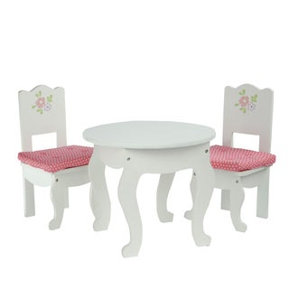 Olivia's Little World Little Princess 18-inch Doll Table and 2 Chair Set