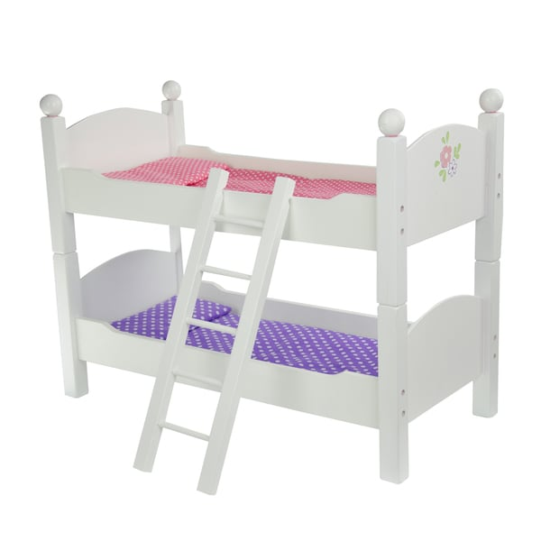 Olivia's Little World Little Princess 18-inch Doll Double Bunk Bed