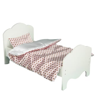 Olivia's Little World Little Princess 18-inch Doll Bed and Bedding Sets