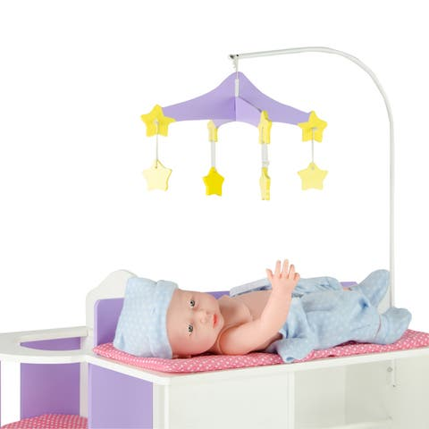 """Olivia's Little World Little - Princess 18"""" Doll Baby Changing Station with Storage"""