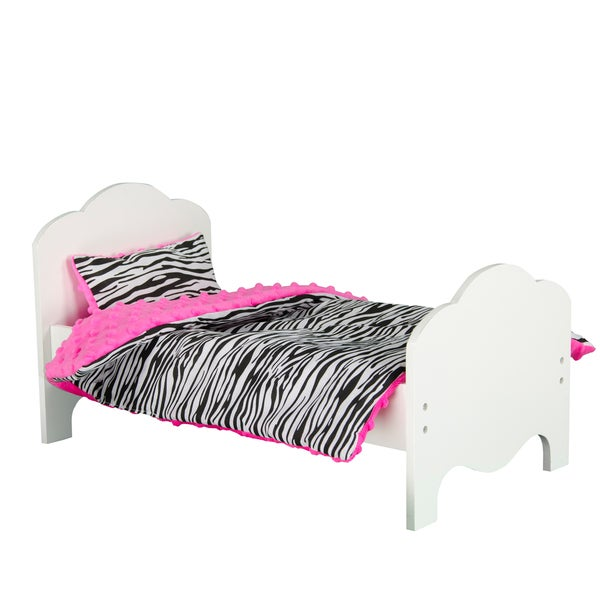 Olivia's Little World Little Princess 18-inch Doll Furniture with Bedding Set