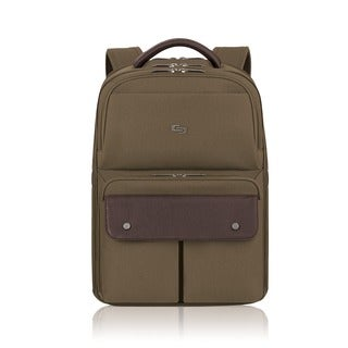 Solo Executive Khaki 15.6-inch Laptop Backpack