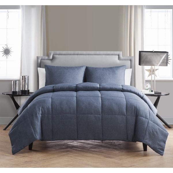 VCNY Garrison Chambray 3-piece Comforter Set