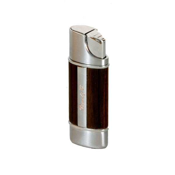 Brizard & Co Exotic Ebony Wood Nano Single Torch Lighter