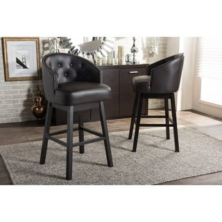 High Back Counter Amp Bar Stools For Less Overstock