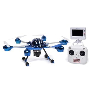 World Tech Toys Alpha 2.4GHz 4.5CH Camera RC Spy Drone