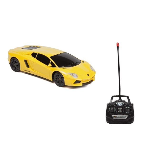 World Tech Toys Lamborghini Aventador LP 700 4 1:24 RTR Electric RC Car