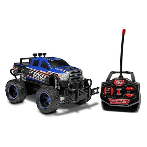 World Tech Toys Ford F-250 Heavy Duty 1:24 RTR Electric RC Monster Truck
