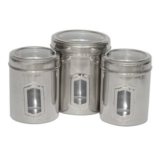 Iconic Pet Canister and Lids (Set of 3)