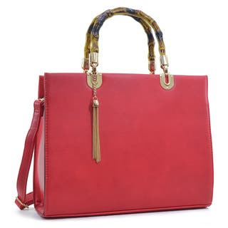 Dasein Smooth Leather Medium Tote Bag https://ak1.ostkcdn.com/images/products/10622028/P17692117.jpg?impolicy=medium