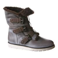 Women's OTBT Black Jack Boot Dust Grey Leather