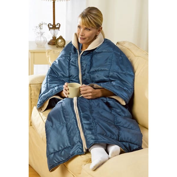 My Cozy Couch Blanket Wrap 3 In 1 Lounging Blanket Wrap