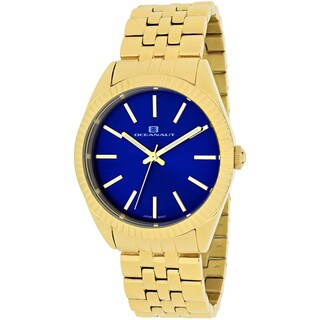 Oceanaut Women's Chique Round Goldtone Stainless Steel Bracelet Watch
