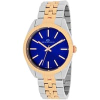 Oceanaut Women's  Chique Round Two-tone Stainless Steel Bracelet Watch