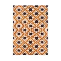 Alliyah Handmade Coral Rose New Zealand Blend Wool Rug - 8' x 10'
