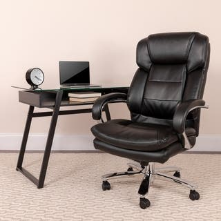 Hercules Series 24/7 Intensive Use Multi-shift, Big and Tall 500-pound Capacity Leather Executive Sw|https://ak1.ostkcdn.com/images/products/10625640/P17695278.jpg?impolicy=medium