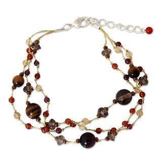 Handcrafted Multi-gemstone 'Lovely' Bracelet (Thailand)