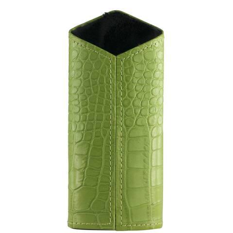 Brizard & Co Croco Lime Green Verical Eyewear Holder