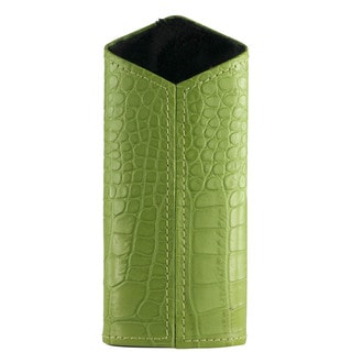 Brizard & Co Croco Lime Green Verical Eyewear Holder