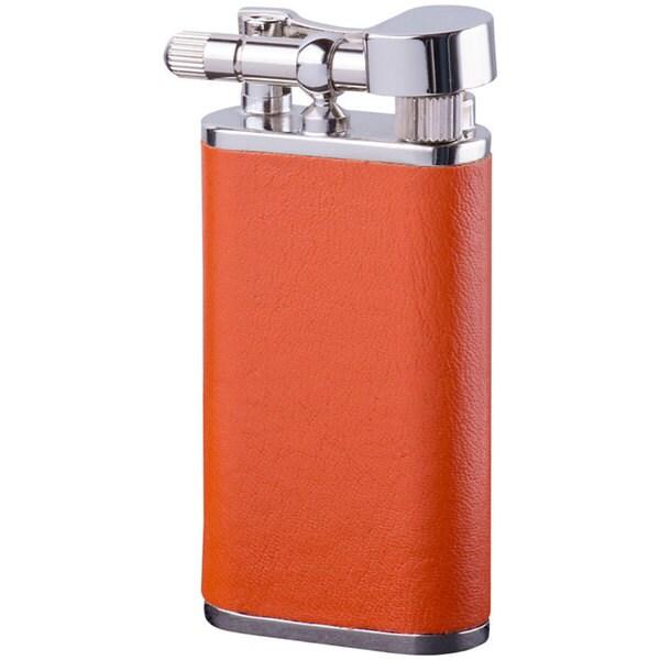 Brizard & Co Orange Leather Retro 1 Lighter