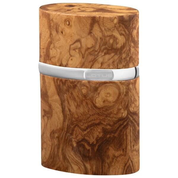 Brizard Lotus Table Lighter Olive Wood