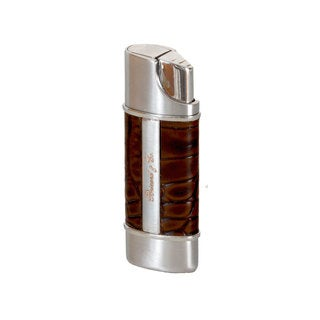 Brizard & Co Croco Tobacco Nano Single Torch Lighter
