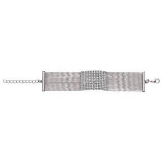 Isla Simone - Rectangle Crystals Bracelet