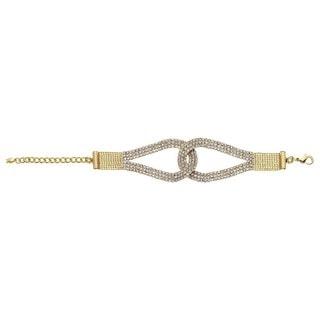 Isla Simone - Horse Shoe Crystal Bracelet