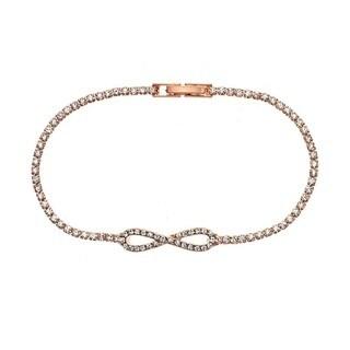 Isla Simone Crystal Infinity Bracelet