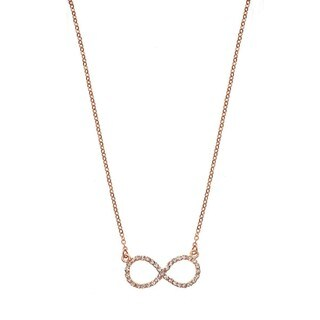 Isla Simone Crystal Infinity Necklace