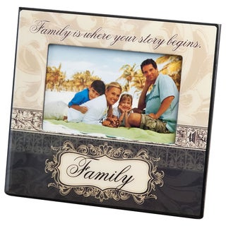 Family Design 6 x 4-inch Picture Frame