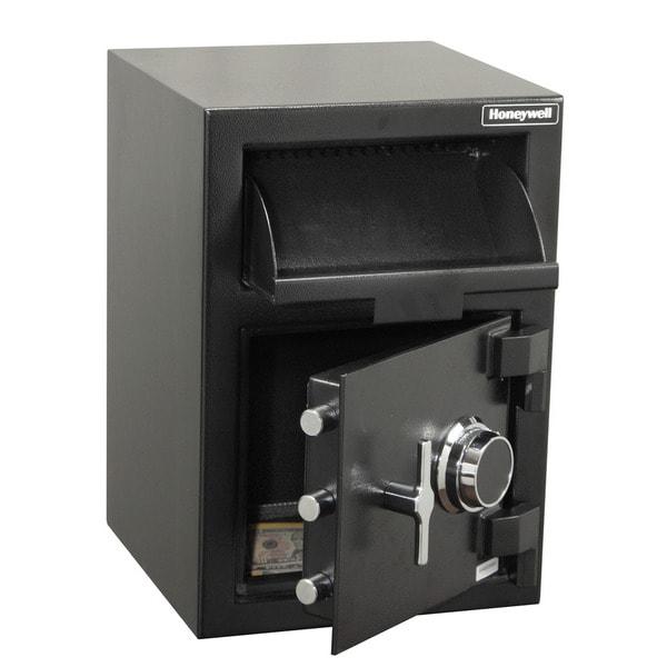 Honeywell 1.18 Cu. Ft. Steel Depository Security Safe - multi