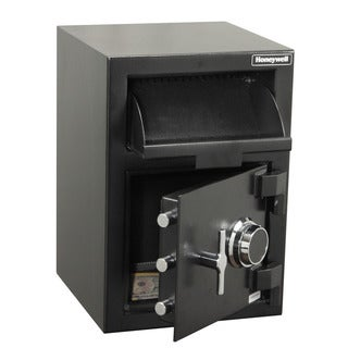 Honeywell 1.18 Cu. Ft. Steel Depository Security Safe - multi