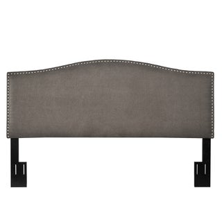 angelo:HOME Leah Parisian Smoky Grey King/California King Headboard