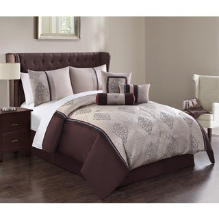 Harlow Jacquard 7-piece Comforter Set