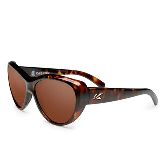 Kaenon Women's Kat-I Tortoise C12 Polarized Sunglasses