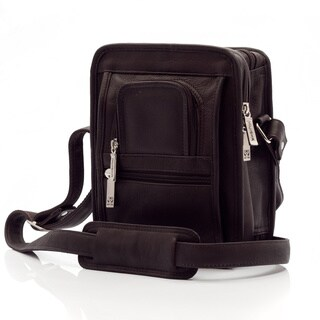 Muiska Vaquetta Leather Daniel Compact Shoulder Satchel Bag