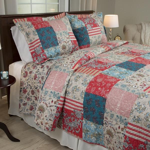 Windsor Home Mallory 3-piece Quilt Set