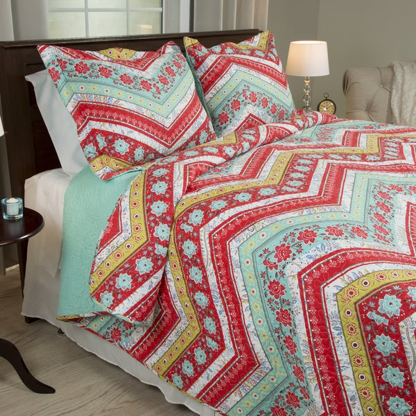 Windsor Home Zina 3-piece Quilt Set