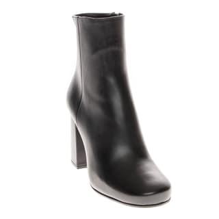 Prada Vitello Leather Ankle Boots