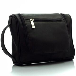 Muiska Vaquetta Leather Dopp Toiletry Bag