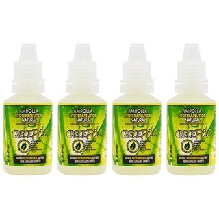 BOE Crece Pelo Ampolla 20ml (Pack of 4)