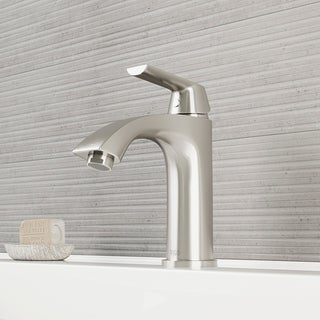 VIGO Penela Single Lever PVD Brushed Nickel Finish Faucet