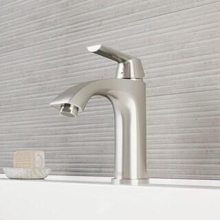 VIGO Penela Bathroom Single Hole Faucet in PVD Brushed Nickel