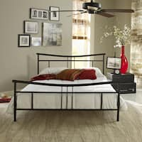 Sleep Sync Abbington Black Platform Bed