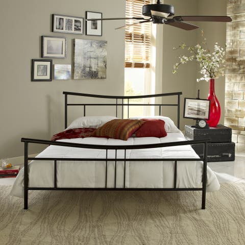 Sleep Sync Abbington Black Platform Bed