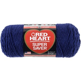 Red Heart Super Saver YarnSoft Navy